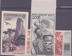 Cameroun Non Dentelés Poste Aérienne N° 38 à 41 4 Valeurs Qualité: ** Cote: 97 € - Cameroun (1915-1959)
