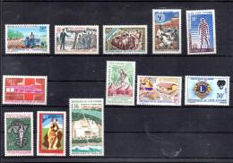 COTE D IVOIRE LOT ENTRE 253 ET 267** SUR DIVERS SUJETS DONT INDEPENDANCE UNICEF UNESCO LIONS CLUB ETC - Côte D'Ivoire (1960-...)