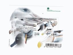 VP4L9 TAAF FSAT Antarctique Antarctic Neuf°° MNH  Bloc Albatros 2016 - Blocs-feuillets