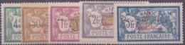 """Maroc Postes N° 37 à 53 17 Valeurs Surchargées """"Protectorat Francais) Qualité: * Cote: 140 € - Maroc (1891-1956)"""