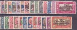 Nouvelle-Calédonie Poste Aérienne N° 3 à 28 Paris-Nouméa 26 Valeurs Qualité: * Cote: 263 € - Poste Aérienne