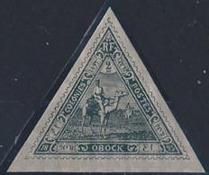 Obock Postes N° 45 2f Méharistes Ardoise (* Très Légère) Qualité: * Cote: 70 € - Obock (1892-1899)