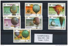 Kampuchéa. Montgolfieres - Kampuchea