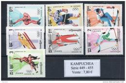 Kampuchéa. Sport Hiver. JO Sarajevo 1984 - Kampuchea