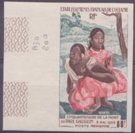 Océanie Non Dentelés Poste Aérienne N° 30 14f Mort De Paul Gauguin Bdf Qualité: ** Cote: 200 € - Océanie (Établissement De L') (1892-1958)
