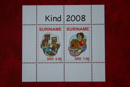 Surinam / Suriname 2008 Minisheet Kinderzegels Child Welfare (ZBL 1578  Mi Block 106 Sc -) POSTFRIS / MNH ** - Surinam