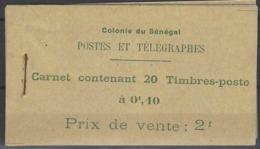 Sénégal Carnets N°  10c Vert-jaune Carnet De 20t. Qualité: ** Cote:  € - Neufs