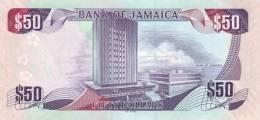 JAMAICA P. 88 50 D 2010 UNC - Jamaica