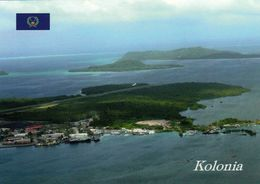 1 AK Island Pohnpei * Blick Auf Kolonia - Hauptstadt Des Bundesstaates Pohnpei - Föderierte Staaten Von Mikronesien * - Mikronesien