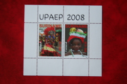 Surinam / Suriname 2008 Minisheet UPAEP (ZBL 1569 Mi Block 105 Sc -) POSTFRIS / MNH ** - Surinam