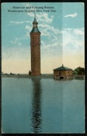 Ref 1243 - USA Postcard - Reservoir & Pumping Station Washington Heights - New York - New York City