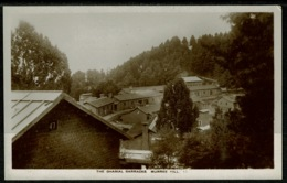 Ref 1243 - Early Real Photo Postcard - The Gharial Barracks - Murree Hill Pakistan - India - India