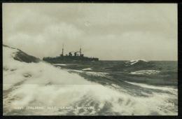 Ref 1243 - Early Italy Military Naval Ship Postcard - Navi Italiane Alle Grandi Manovre - Maritime Theme - Manoeuvres