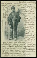 Ref 1243 - 1901 Ethnic Postcard - Chimney Sweep - France 10c Internal Rate - Europe