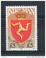 Ile De Man. Timbre Taxe. 5 £ - Man (Ile De)