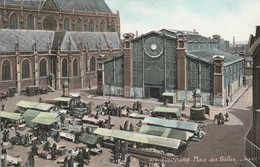 Nord : TOURCOING : Place Des Halles ( Colorisée ) - Tourcoing