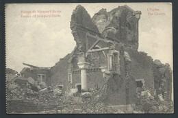 +++ CPA - Guerre - Ruines De NIEUPORT - NIEUWPOORT - Eglise - Kerk   // - Nieuwpoort