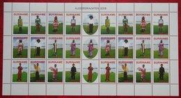 Surinam / Suriname 2008 Klederdracht Costume Kleidertracht Costume Regional (ZBL 1514-1525 Mi 2184-95)  POSTFRIS  MNH ** - Surinam
