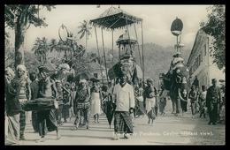 SRI LANKA (CEYLON) - The Candy Perahera Ceylon(distant View)( Ed. Platé Nº 33) Carte Postale - Sri Lanka (Ceylon)