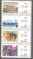 Ierland  2018  ATM 2  Automaatzegels  Europa Brug Bridge   Strip V 4       Postfris/mnh/neuf - 1952-.... (Elizabeth II)