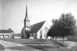 Marcilly-sur-Eure - Eglise Saint-Pierre - Dessin Au Verso Champigny-la-Futelaye - Marcilly-sur-Eure