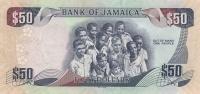 JAMAICA P. 89 50 D 2012 UNC - Jamaica