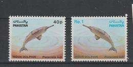 Pakistan 1982 Dauphin Série 555-56 2 Val ** MNH - Pakistan