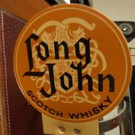 PLAQUE METALLIQUE Sur Support De Bar Complet Doseur Marque : LONG JOHNE - Alcools