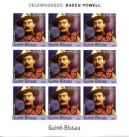 GUINEE-BISSAU 2004 Bloc Feuillet ** MNH Imperf Baden POWELL Scout Scoutisme Pathfinder Pfadfinder - Scouting
