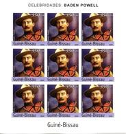 GUINEE-BISSAU 2004 Bloc Feuillet ** MNH Imperf Baden POWELL Scout Scoutisme Pathfinder Pfadfinder - Scoutisme