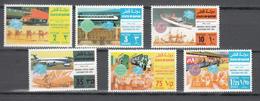 Qatar 1974,6V In Set,centenario De La UPU 1874-1974,Union Postale Universelle,MNH/Postfris(A3582) - UPU (Universal Postal Union)