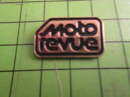 316a Pins Pin's / Rare Et De Belle Qualité  THEME MOTOS : REVUE MAGAZINE MOTO REVUE - Motos