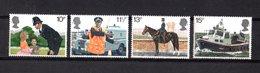 Gran Bretagna :  150° Anniversario Della Polizia Di Londra - 4  Val. MNH**  26.09.1979 - 1952-.... (Elisabetta II)