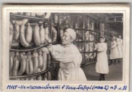 "A PHOTO. ""IN UKRAINIAN ENCYCLOPEDIA. MONGOLIA. AT THE MEAT PLANT. - Sin Clasificación"