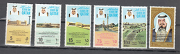 Qatar 1974,6V In Set,third Anniversary Independence Day,MNH/Postfris(A3583) - History