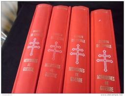 Memoire De Guerre - 4 Classeurs De 16 Numeros De En Ce Temps La De Gaulle - Lots De Plusieurs Livres
