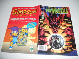 Leonard Nimoy's Primortals Comic - Vol 1 - No 9 - Date 12/1995 - Tekno Comix En V O - Magazines