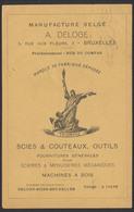"""Guerre 14-18 - OC N°11 Sur Imprimé PUB """"Manufacture Belge"""" + Obl Mécanique Bruxelles 21/11/16 - Guerre 14-18"""