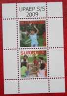 Surinam / Suriname 2009 UPAEP Children Playing (ZBL 1630 Mi Block 108 2305-2306) POSTFRIS / MNH ** - Surinam
