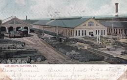 Altoona PA. Car Shops 1906 Train - Other