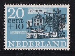Nederland - Steden En Dorpen - Staveren/Stavoren - Provincie Friesland - MNH - NVPH 845 - Géographie