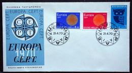 Greece 1970     EUROPA  / CEPT  MiNr.1040-41  FDC  ( Lot   6597  ) - FDC