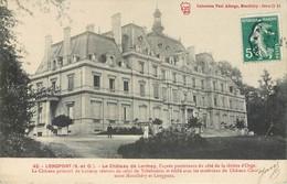 CPA 91 - ESSONNE Seine Et Oise Longpont Sur Orge Le Chateau De Lormoy Collection Paul Allorge Montlhéry - Autres Communes