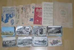 Lot De 780 Cartes Postales CPSM Et CPM  ++ 90 CPA  Et De 21 Partitions - Cartes Postales