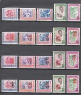 Guinea 1960-1962,20V In 4 Sets,malaria,padulisme,paludismo,mosquito,mug,moskito,moustique,zanzara,MNH/Postfris(A3585) - Enfermedades