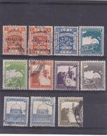 Palestine Oblitéré 1921-45  Entre N° 41 Et 74 .  Vues Diverses - Palestine