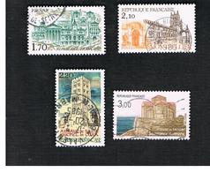 FRANCIA (FRANCE) -   SG 2652.2655  -      1985   TOURISM       -  USED - Francia