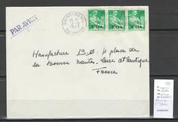 Reunion - Lettre  De SAINT DENIS -  1961 - Reunion Island (1852-1975)