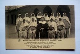 MISSIONS DES Rds PERES CAPUCINS AU PUNDJAB - INDES - Jeunes Filles Indiennes Se Préparant à La Vie Religieuse - India