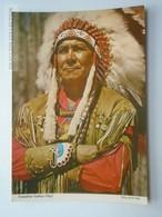 D162440 Canadian Indian Chief - Indiens De L'Amerique Du Nord